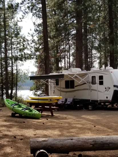 Our Camp at North Twin Lake