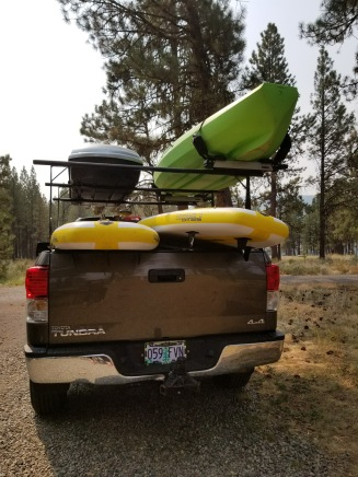 Getting Ready To paddle