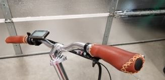 Handlebars-Leather Grips